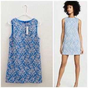 NWT ALICE + OLIVIA Clyde Cornflower Floral Dress 6